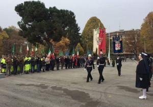 Il gonfalone della Provincia alle cerimonie del 2 e 4 novembre a Cuneo