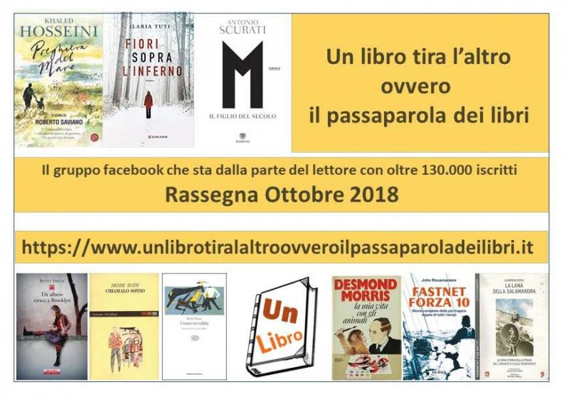 Ecco i libri più letti e commentati a ottobre 2018