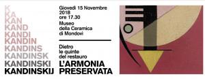 'Kandinskij l'armonia preservata. Dietro le quinte del restauro'