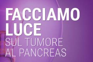 Anche a Cuneo 'Facciamo luce sul tumore al pancreas'