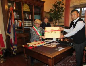 Dal Giappone a Bra: visita di una delegazione della città di Kawaba