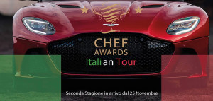 Chef Awards 2018: 'Italian Tour' al castello di Magliano Alfieri