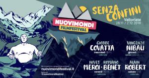 Grandissimi ospiti e tante prime visioni per il 'Nuovi Mondi' Festival 2018 a Valloriate