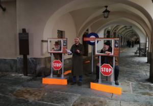 La troupe Rai a Cuneo per le riprese di 'Provincia Capitale'