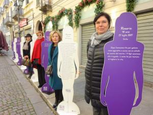 Bra e le 'Voci nel Silenzio', per dire basta alla violenza contro le donne