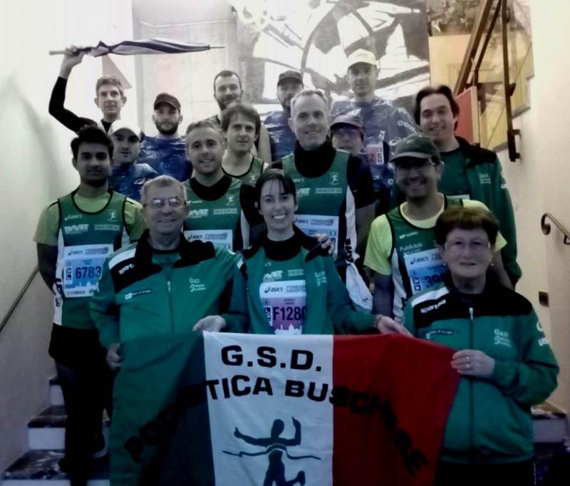 Grande partecipazione della Podistica Buschese alla Maratona di Firenze