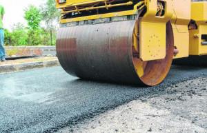 Nuovo asfalto per la strada provinciale 564 Cuneo-Beinette fino al villaggio Colombero