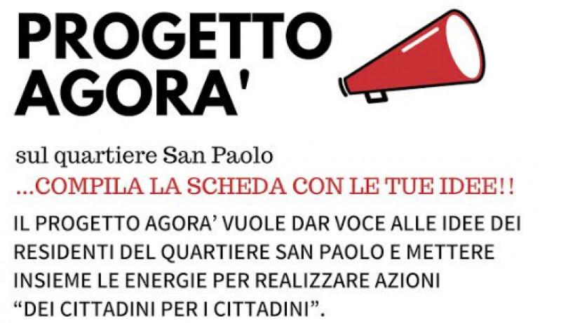 Parte il progetto Agorà sul quartiere San Paolo a Cuneo con un questionario per la raccolta di idee