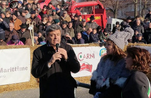 La Banca Alpi Marittime sostiene la 'Fiera del Bue Grasso' di Carrù