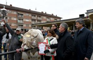 La Banca Alpi Marittime a sostegno della fiera del Bue Grasso di Carrù