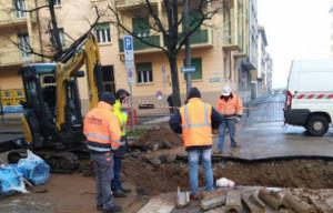 Ripristinata l'erogazione dell'acqua nella zona dell'ospedale a Cuneo