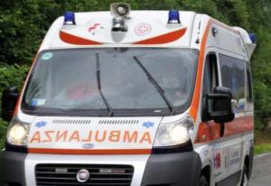 Un uomo di 63 anni ricoverato dopo un incidente