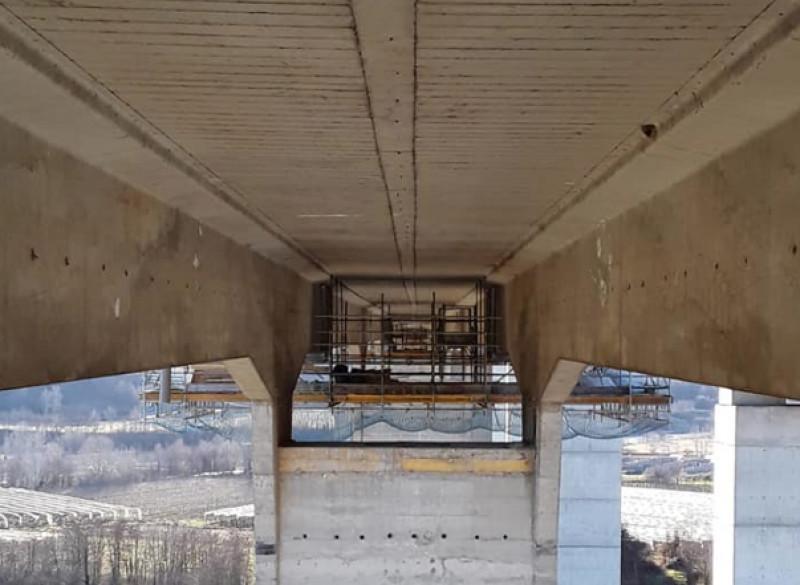 Torino-Savona, i lavori sui due viadotti tra Fossano e Marene ultimati a giugno