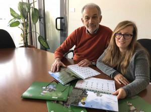 Il calendario 2019 della Regione in distribuzione all'Urp di Cuneo