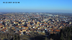 Attivata la prima webcam panoramica su Borgo San Dalmazzo