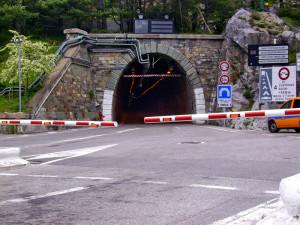 Il tunnel del colle di Tenda chiuso di notte dal 4 all'8 febbraio