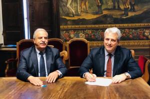 Firmato l'atto di trasferimento dell'ex frigorifero militare di Cuneo