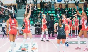 Pallavolo A1/F: una grande Bosca San Bernardo supera Brescia al tie-break