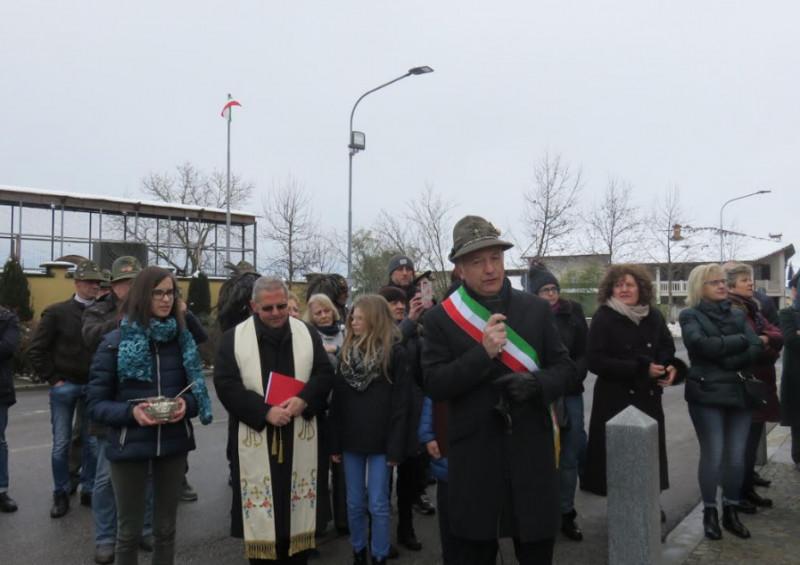La piazza di Veglia di Cherasco intitolata a don Luigi Mazza