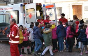 Busca, 'Piccoli volontari': sabato mattina si presenta la Croce Rossa