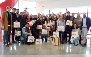 Studenti dell'ESCP Europe provenienti da tutto il mondo in visita alla Maina
