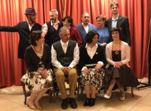 La compagnia 'J Sagrinà' di San Chiaffredo porta a teatro 'Giromin a veul mariesse'