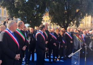 A Nizza sindaci italiani e francesi per 'rinsaldare i rapporti Italia-Francia' (FOTO)