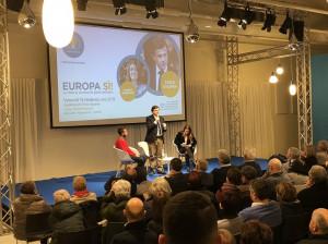 'Nel nostro territorio c'è voglia di Europa, di partecipazione e di competenza'
