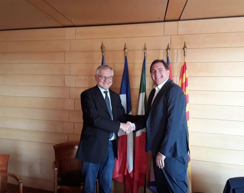 Balocco incontra Tabarot (Region Paca): 'Serve posizione comune sul tema dei collegamenti tra le due regioni'