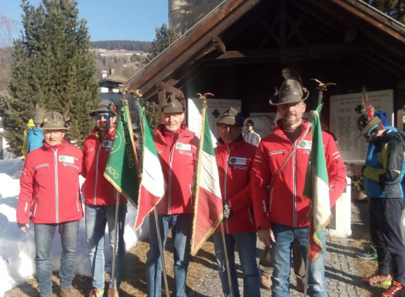 Campionati Nazionali ANA di sci di fondo: la Sezione di Cuneo decima a Dobbiaco
