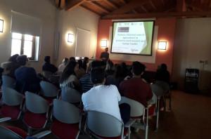 Un gruppo di studenti internazionali in visita alla Fondazione Agrion