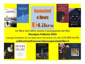 'Il passaparola dei libri': ecco i libri più letti del mese di febbraio