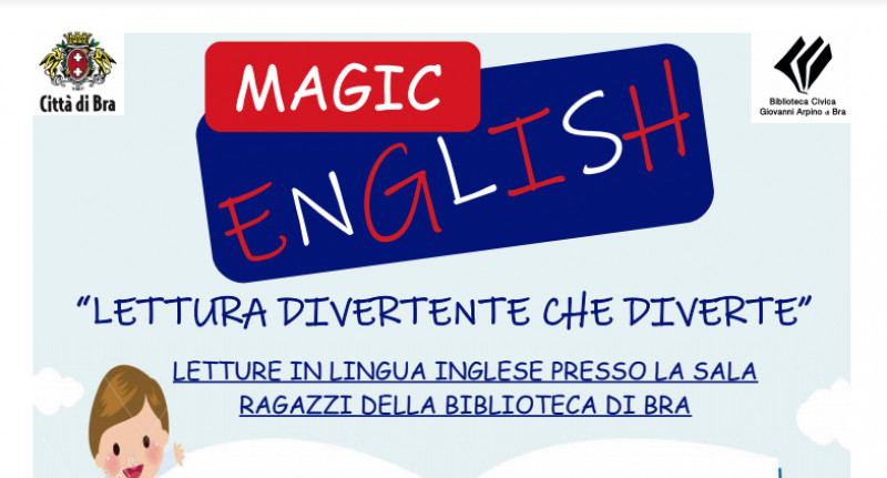 Bra: letture per bambini in lingua inglese in biblioteca