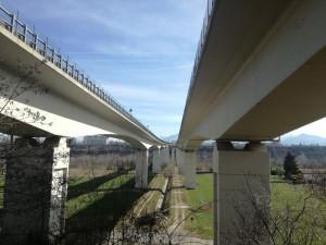 Nel 2011 richieste autorizzazioni per lavori di consolidamento sotto il ponte dell'Est-Ovest, ma non sono mai stati eseguiti