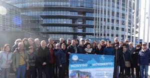 Monviso in Movimento e Apice in visita presso le istituzioni europee a Strasburgo