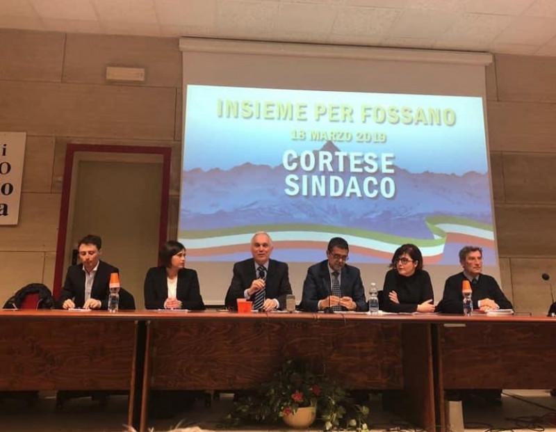 Fossano verso le elezioni: Paolo Cortese presenta la sua candidatura