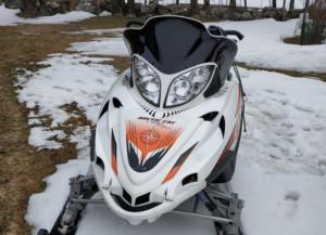 Usava la motoslitta in zone in cui è vietato: multato a Demonte