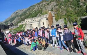 'Trasportati nella storia', 600 bambini al Forte di Vinadio con dodici bus gratuiti