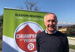 Il vicesindaco di Saluzzo Franco Demaria candidato con la lista 'Chiamparino per il Piemonte del Sì'
