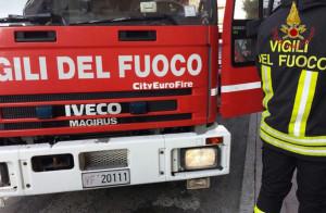 Incendio alle Scuole Medie di Busca, evacuato l'edificio