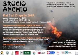 'Brucio anch'io': a Rossana una mostra per ricordare gli incendi del 2017