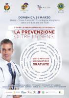 Domenica a Busca la seconda edizione di 'La prevenzione oltre i cinque sensi'