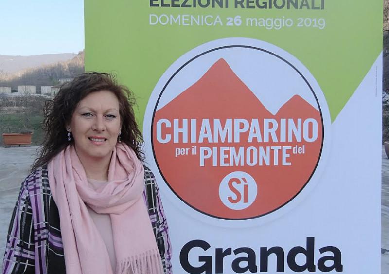 L'ex sindaco di Garessio Valeria Anfosso candidata per la Lista 'Chiamparino per il Piemonte del Sì'