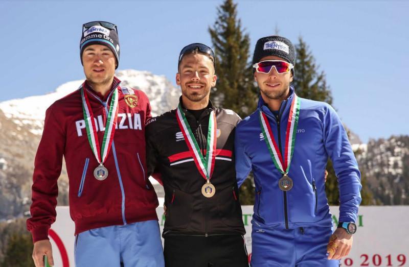 Lorenzo Romano medaglia d'oro nella 50 km under 23 dei campionati di sci nordico