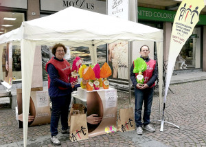 Da domani uova di Pasqua per il ventennale dell'Ail di Cuneo in oltre 130 piazze della Granda