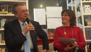 Bra, serata di grande successo al Caffè Letterario con Gian Mario Ricciardi
