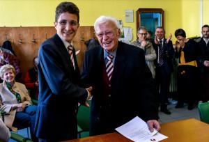 Lasciò il liceo Classico per unirsi ai partigiani: premiato il novantaquattrenne Giuseppe Rinaudo