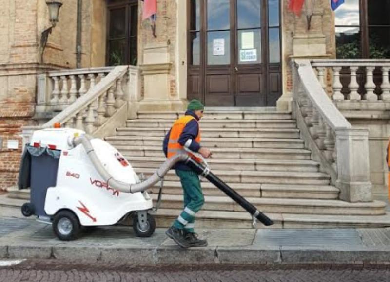 Bra: nuovi mezzi elettrici per la pulizia delle strade cittadine