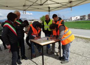 Al via i lavori per la rotatoria all'incrocio 'bivio Borgo' tra Caraglio e Bernezzo