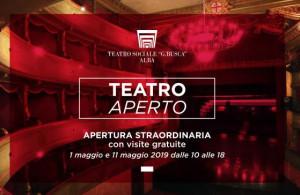Ad Alba 'Teatro aperto' - Storia e curiosità di un teatro unico'